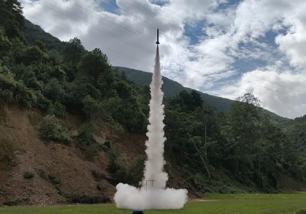 यसरी सफल भयो नेपालीले बनाएको 'क्वान्टम रकेट'को पाँचौ परीक्षण